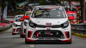 Hugo Araújo e Mariano Pires destacam-se na segunda corrida do Kia Picanto GT Cup