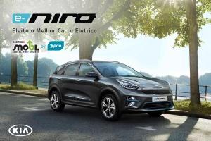 Novo Kia e-Niro eleito o Melhor Carro Elétrico em Portugal