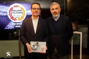 """Novo Peugeot 208 eleito """"Melhor Utilitário do Ano"""""""
