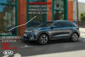 Novos modelos e eletrificação elevam vendas e quota de mercado europeia da Kia para níveis recorde