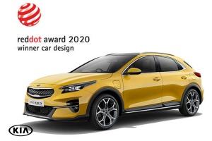 Kia XCeed vence prémio de design Red Dot e conquista galardões em vários países europeus