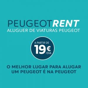 Conduza o nosso Peugeot enquanto espera pelo seu!